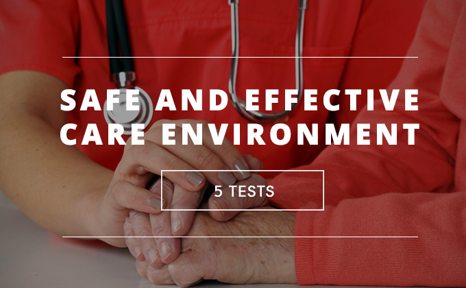 Safe and Effective Care Environment practice tests